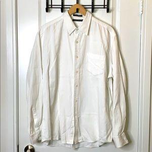 Club Monaco XL White Shirt